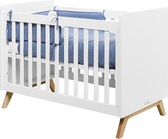 Bopita Fenna Bed - 60x120 cm Wit/Naturel