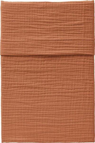 Cottonbaby Cottonsoft ledikant laken - 120x150cm - roest