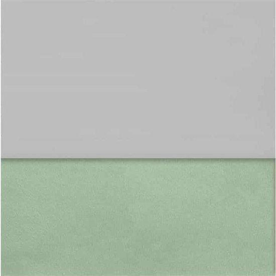 Jollein ledikant laken 120x150cm - soft grey
