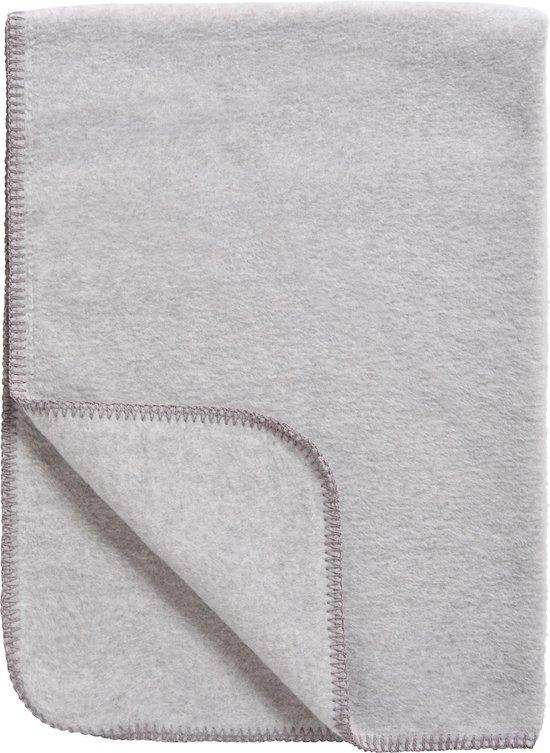 Meyco Uni ledikantdeken - grijs
