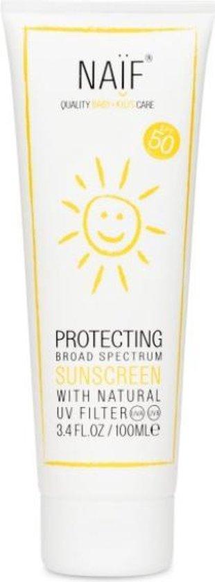 Naïf zonnebrandcrème SPF50