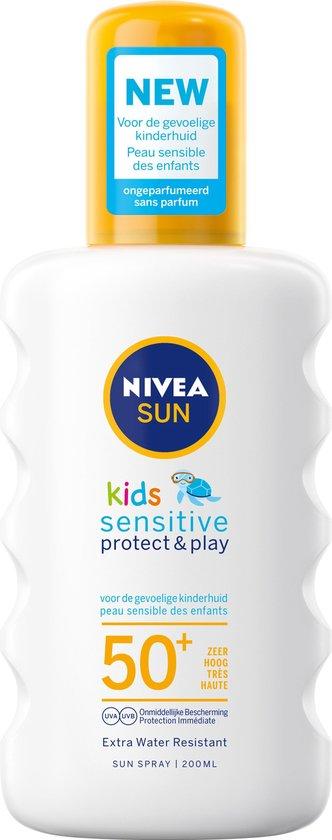 Nivea SUN kids sensitive zonnespray SPF50+
