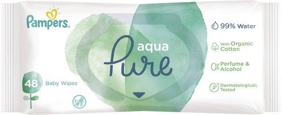 Pampers Aqua Pure billendoekjes