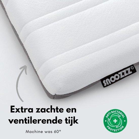 Snoozzz 2 in 1 Premium babymatras - Ledikantmatras - Koudschuim - 60x120cm