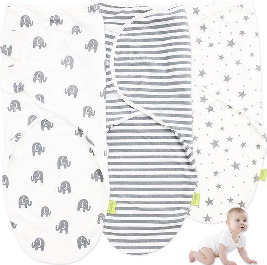 Toddly inbakerslaapzak 3-pack - 0-3 maanden