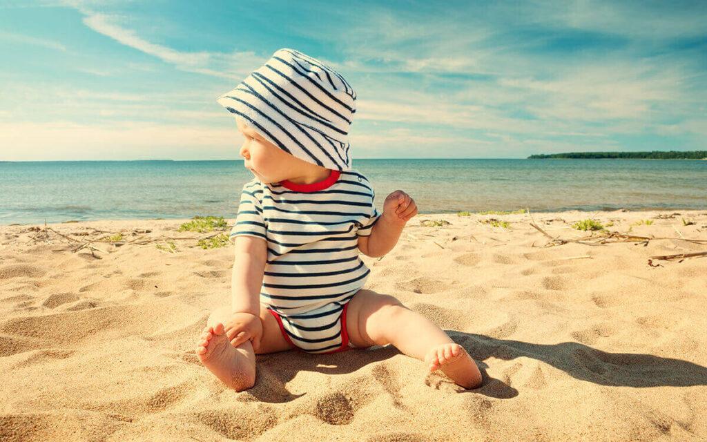 zonnebrand voor je baby