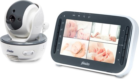 Alecto babyfoon DVM 200 babyfoon met camera