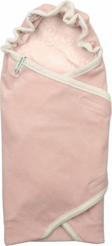 Lodger wikkeldeken - roze