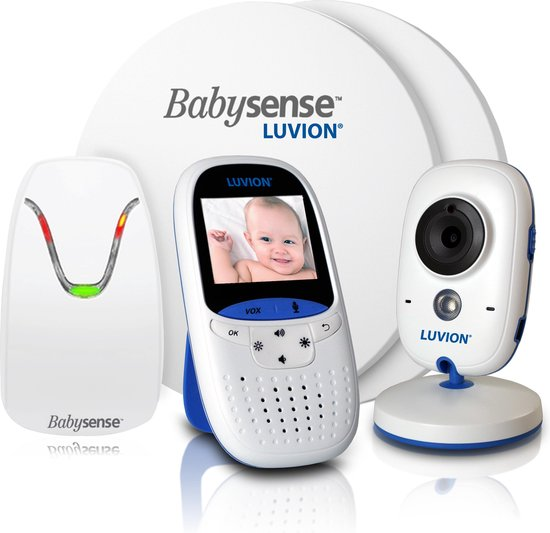 Luvion Easy babyfoon met camera - veiligheids voordeelbundel