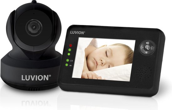 Luvion essential babyfoon met camera - Premium Black Edition