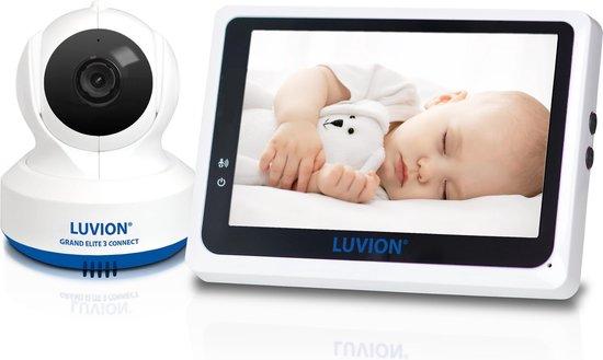 Luvion grand elite 3 babyfoon met camera en app