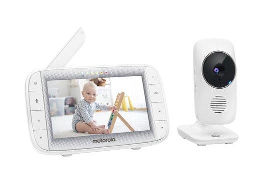 """Motorola babyfoon MBP485 met camera en 5"""" kleurenscherm"""