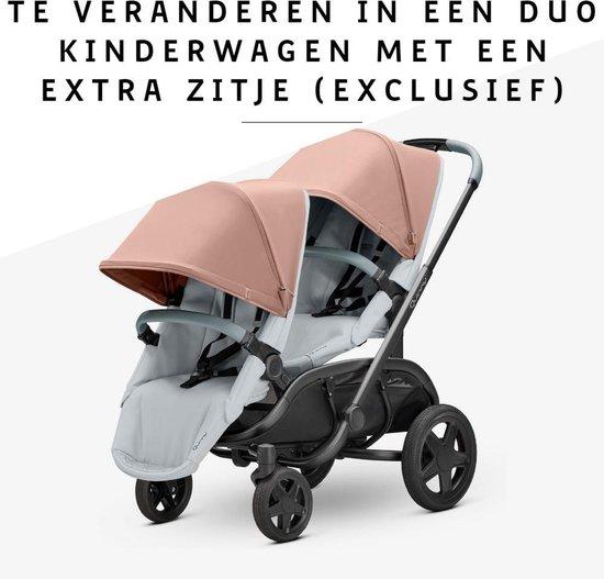 Quinny Hubb Mono kinderwagen - cork on grey