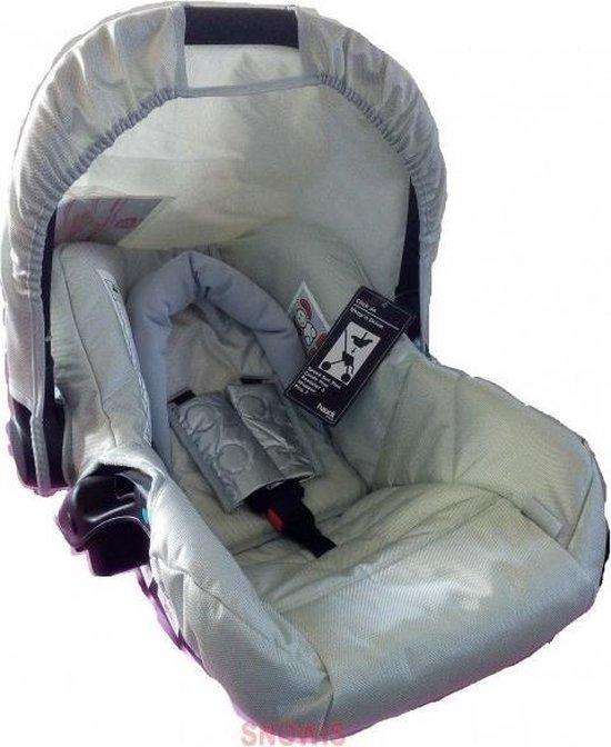 Autostoel iCoo lifesaver - groep 0+ - zilver