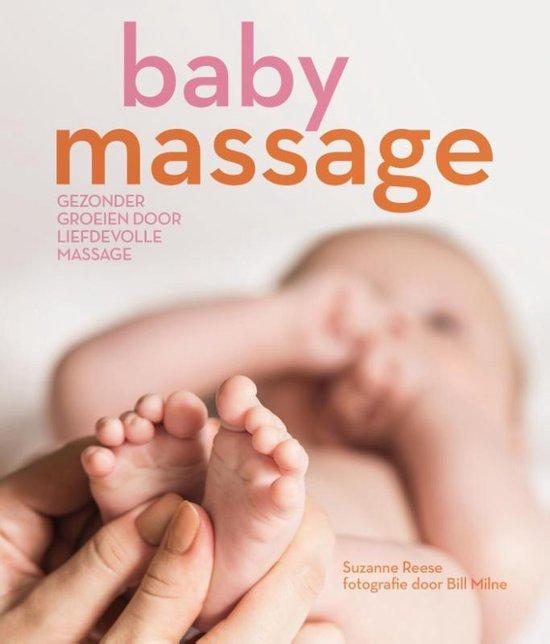 Boek Babymassage door Suzanne Reese