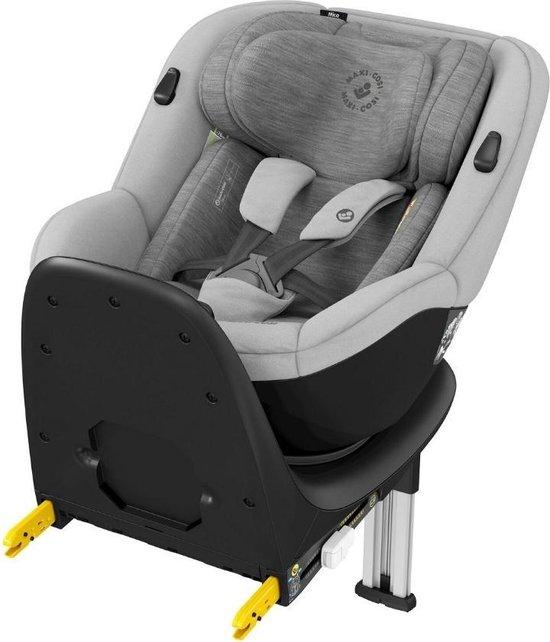 Maxi Cosi Mica Up draaibare autostoel met ISOFIX base - groep 0+/1 - grijs