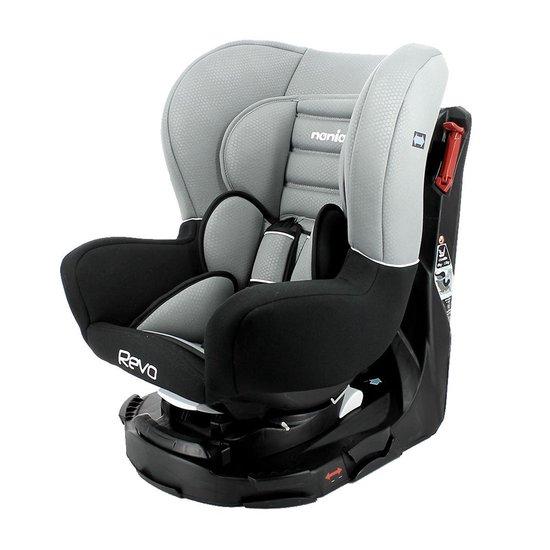 Nania draaibare autostoel 0-18kg - luxe grey