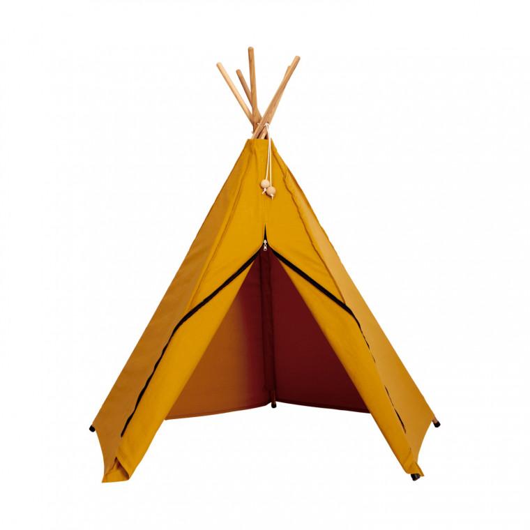 Roommate Hippie Tipi Tent - Yellow Ochre